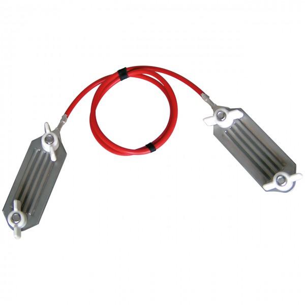 Bandverbindungskabel - Schraubplatten aus Edelstahl - Agrar Onlineshop