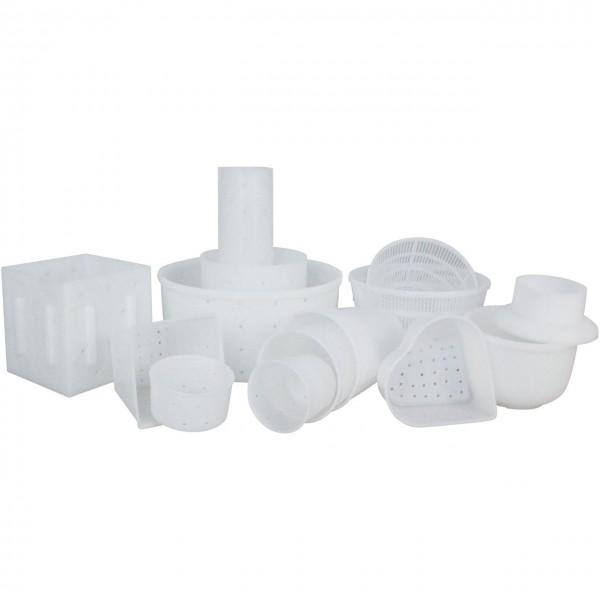 Onlineshop - Käseform-Vorteilspackung - Set  - Käseherstellung