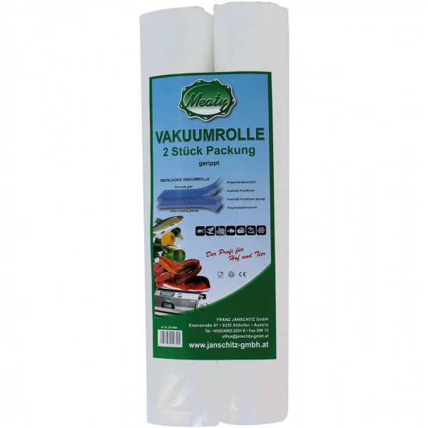 Meaty Vakuumrolle gerippt - Vakuumverpackung - Onlineshop