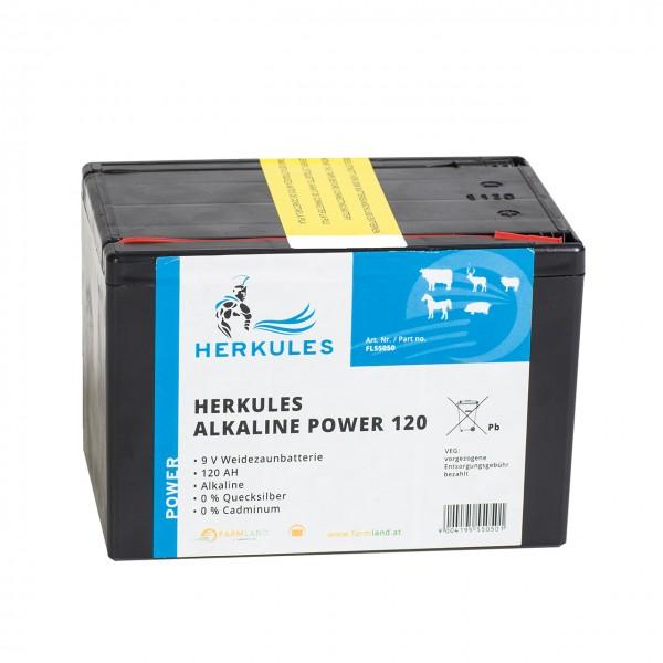 HERKULES Alkaline Super 120 Weidezaunbatterie