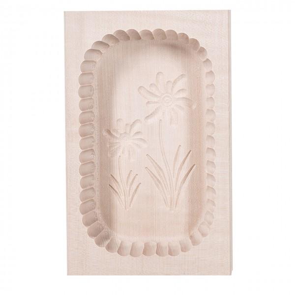 Onlineshop / Buttererzeugung - Buttermodel 400g aus Holz - Butterherstellung