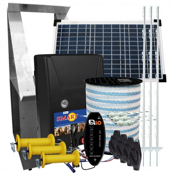 Pferdezaunset Solar - Weidezaungerät - Weidezaunbedarf - Agrar Onlineshop