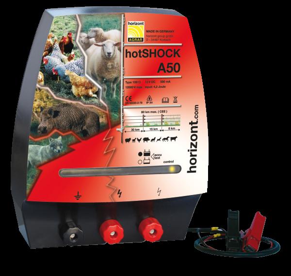 Horizont Weidezaungerät hotSHOCK A50
