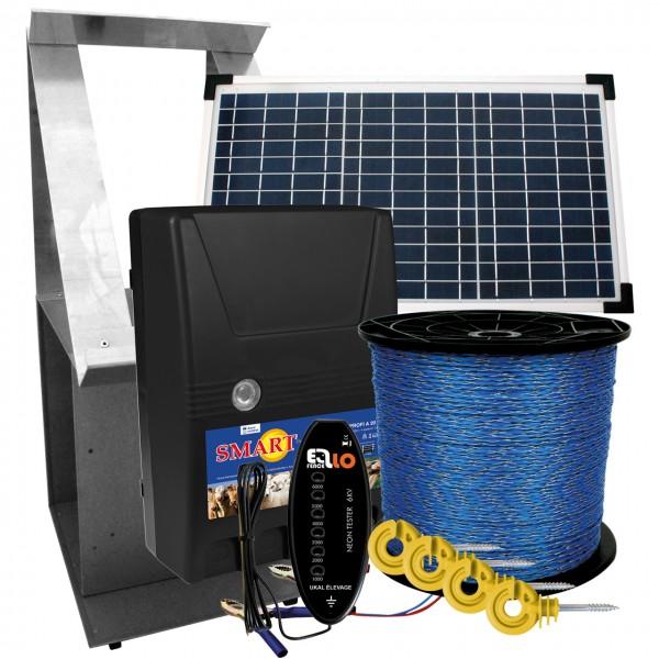 Weidezaun-Solar-Set - Weidezaungerät - Agrar Onlineshop