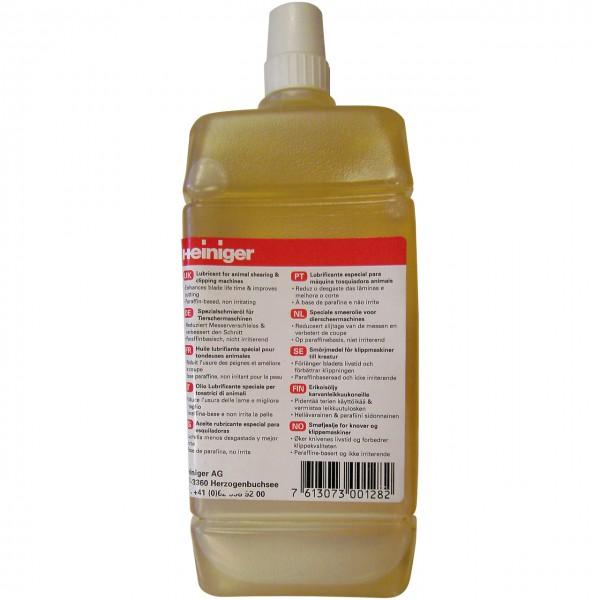 Schermaschinenöl Nachfüllflasche 500ml - Heiniger - Onlineshop