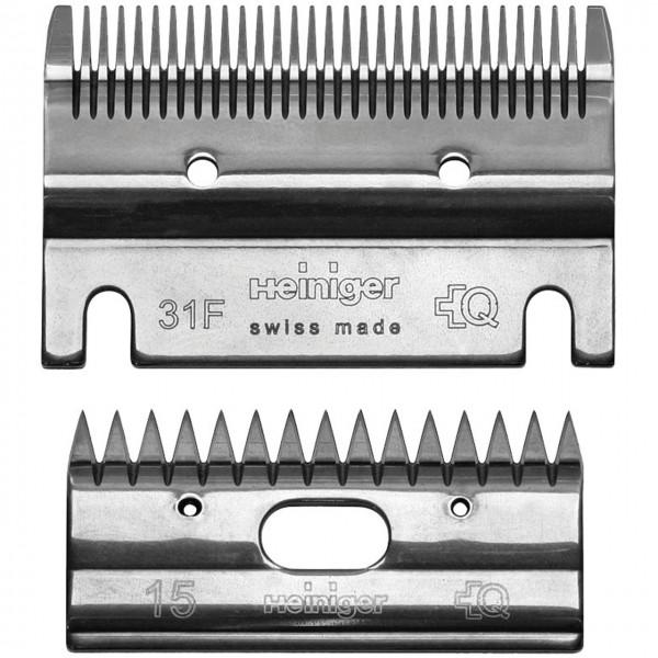 31F/15 Schermesser Set - Heiniger - Shop für Stall- und Hofbedarf