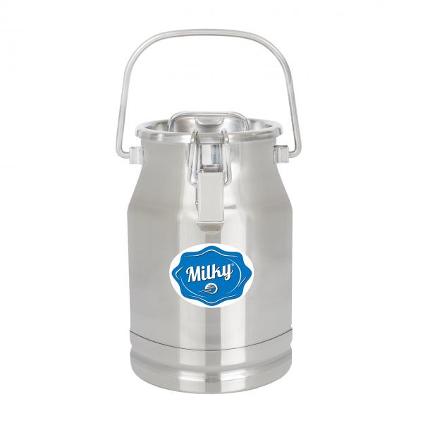 Milchkanne Edelstahl 5L